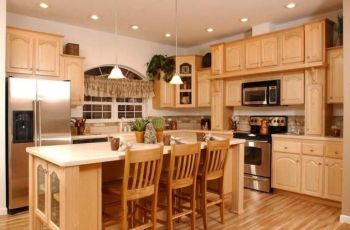 Kitchen Paint Colors With Light Oak Cabinets