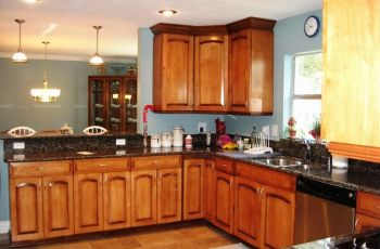Kitchen Paint Colors With Maple Cabinets Photos