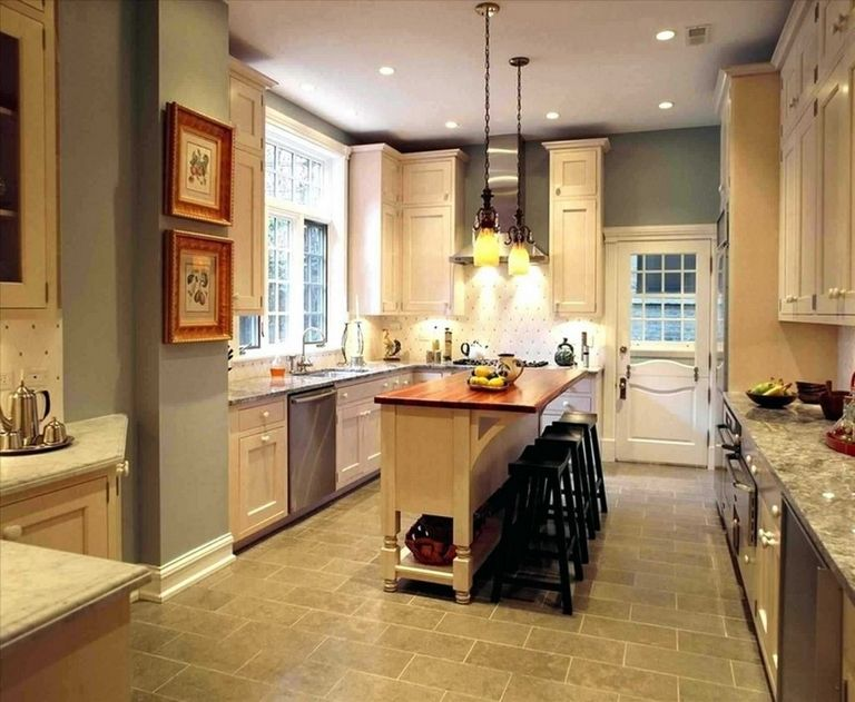 Narrow Kitchen Island Ideas