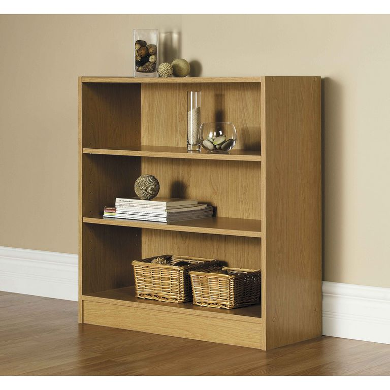 Walmart 3 Shelf Bookcase