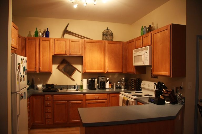 What To Put On Top Of Kitchen Cabinets