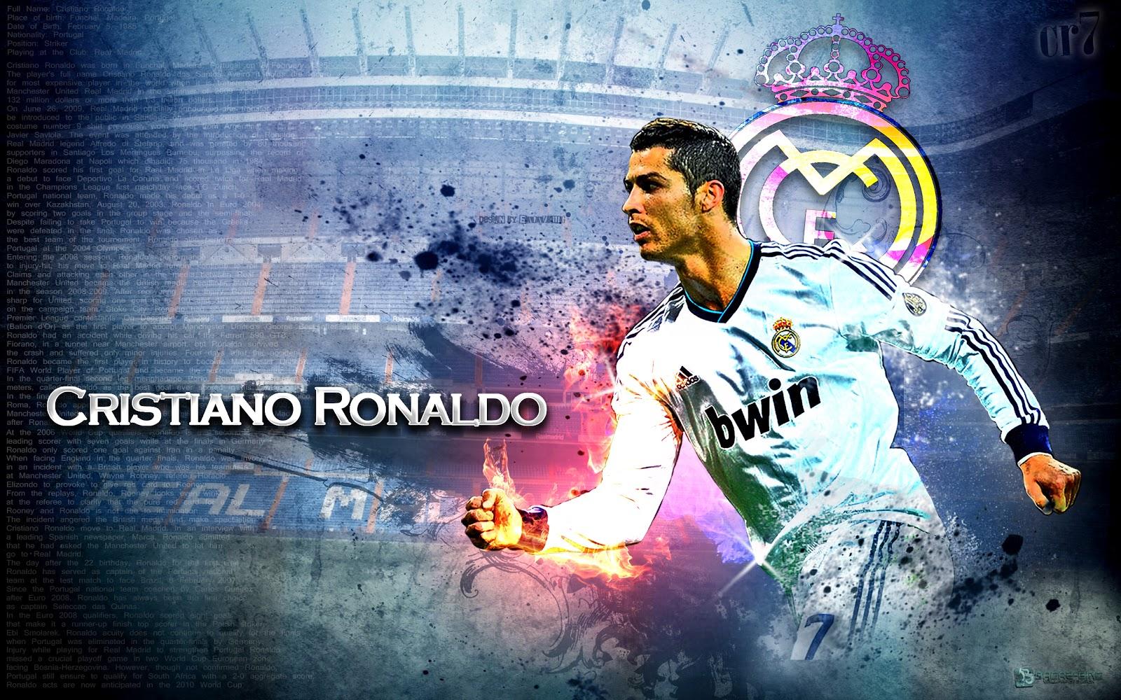 cristiano ronaldo football wallpaper
