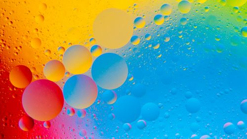 Wallpapers net   Free Desktop and Mobile 4K HD Wallpapers Colourful Bubbles 4K HD Abstract Wallpaper