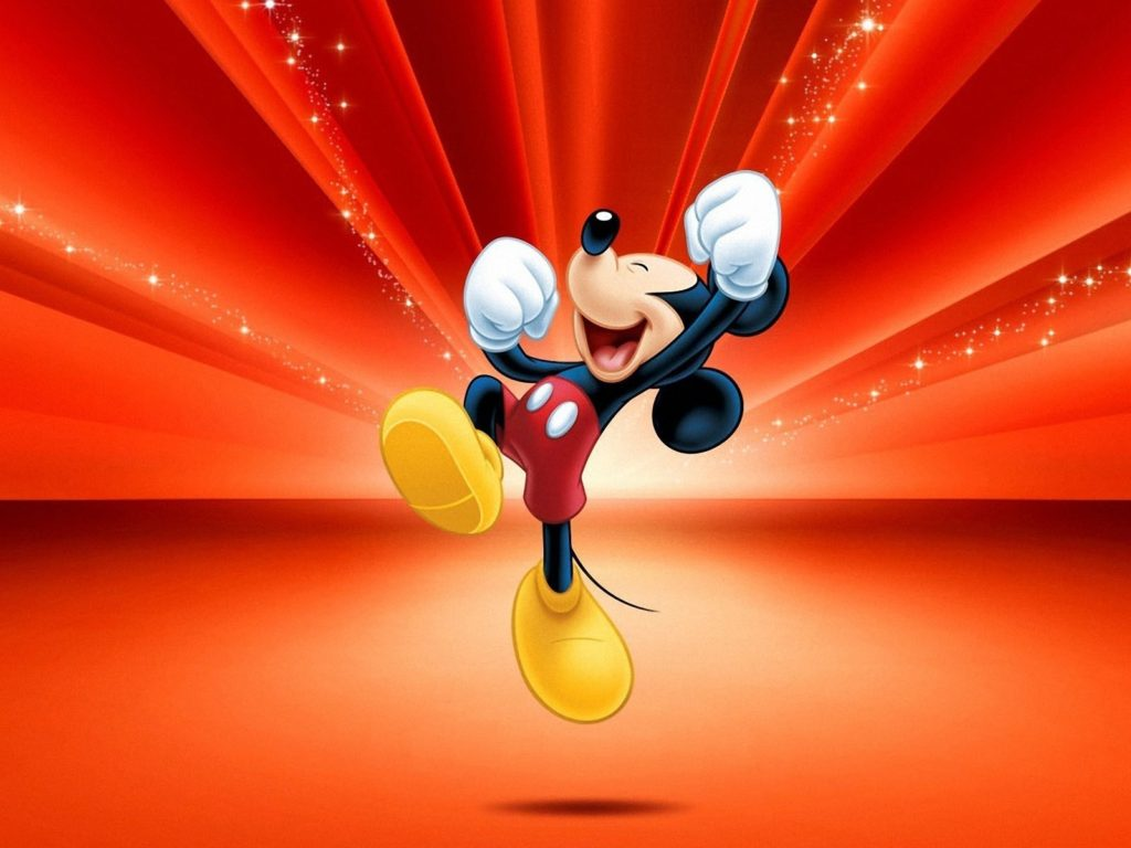 Happy Mickey Mouse Hd Wallpaper