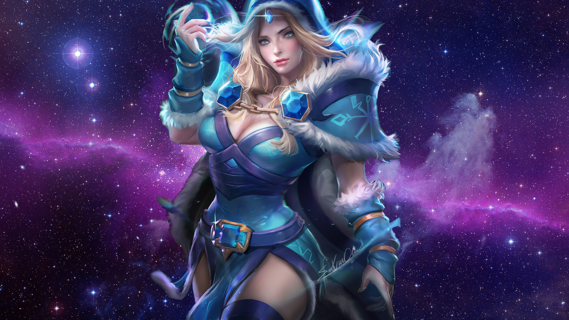 The Gallery For Gt Luna Dota 2 Wallpaper