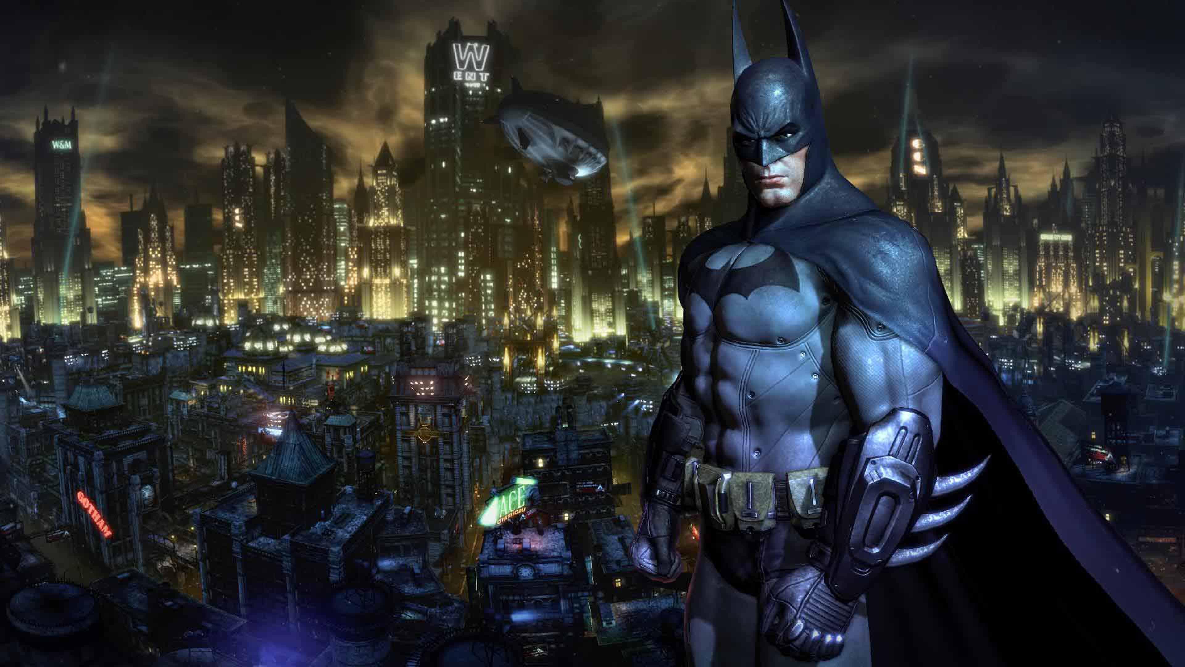 Batman Arkham Knight Black Hd Wallpaper 3840x2160
