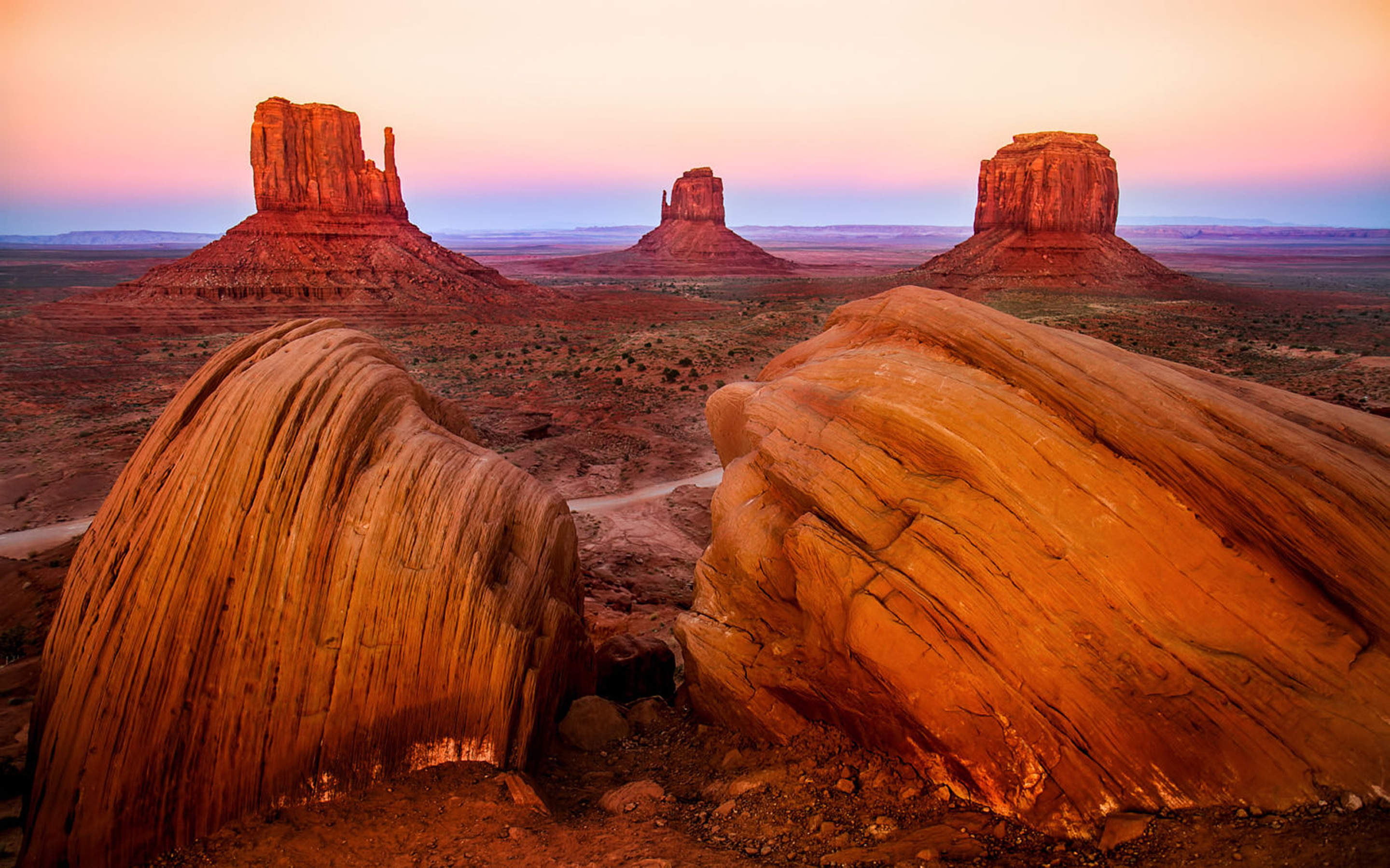 Monument Valley National Park Figures Of Rock Vaarsko Of