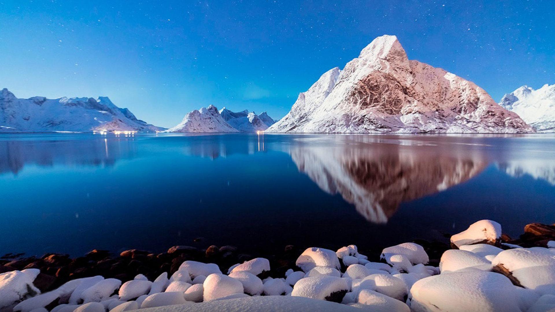 Blue Landscape Stones