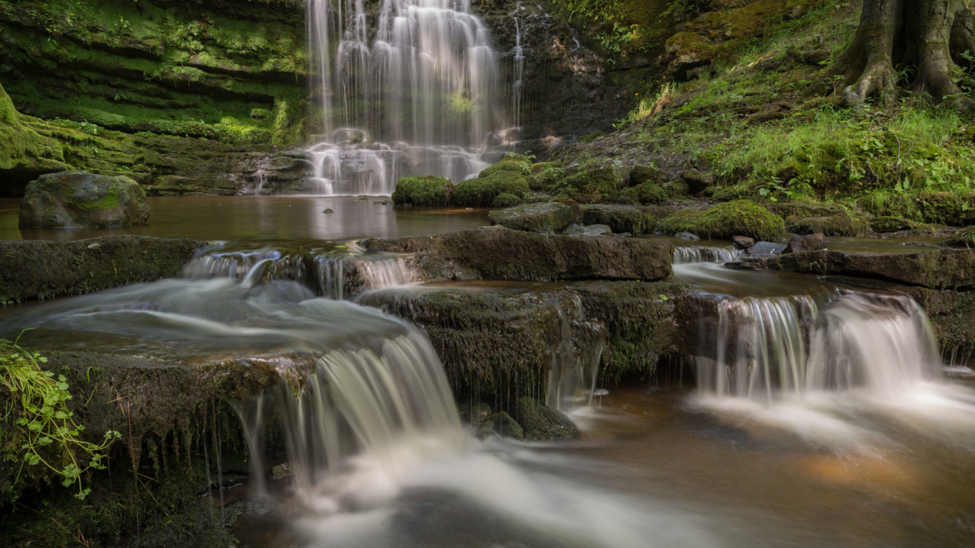 Scaleber Force Waterfall Yorkshire Dales National Park