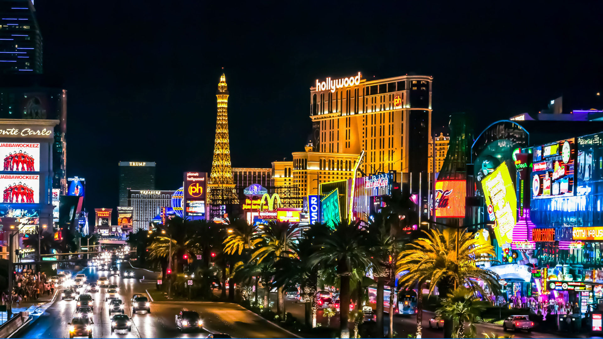 Las Vegas Hotel Hollywood Resort Amp Casino Nevada North America Hd Wallpaper For Pc Tablet And