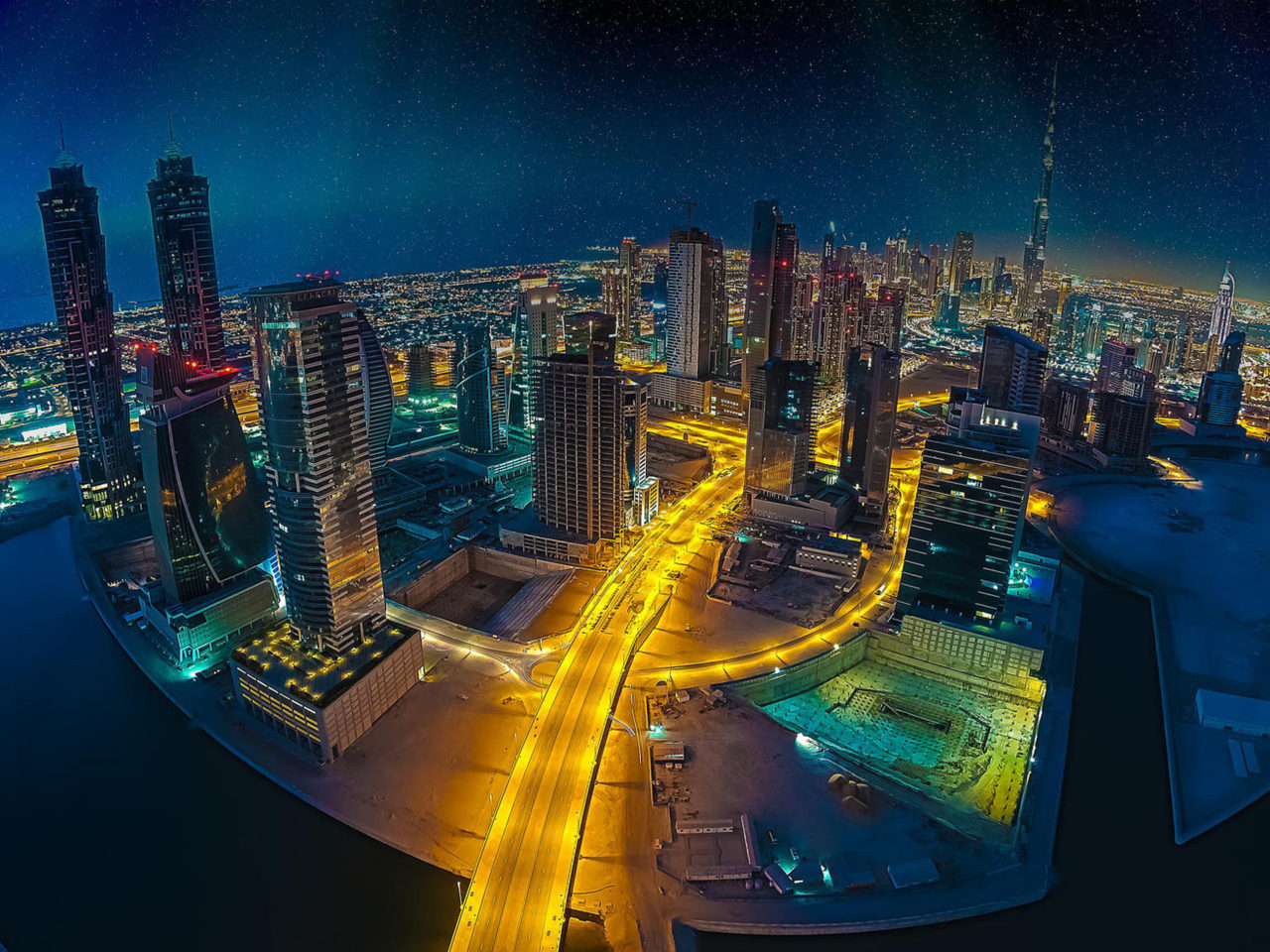 Dubai Skyline Aerial Images Of Cities With Modern