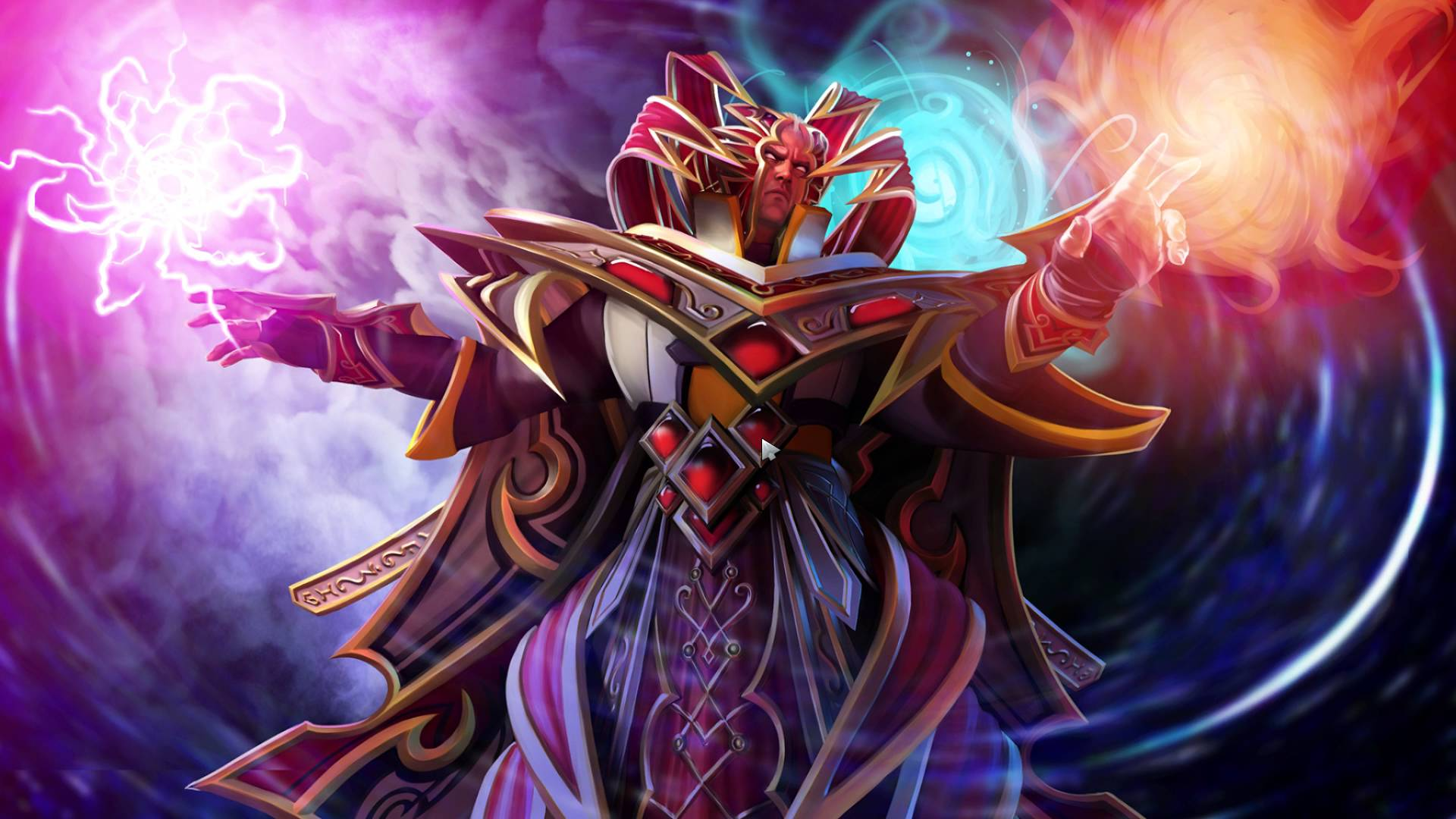 Dota 2 Pictures Gallery Invoker Magic Fighter Digital Art