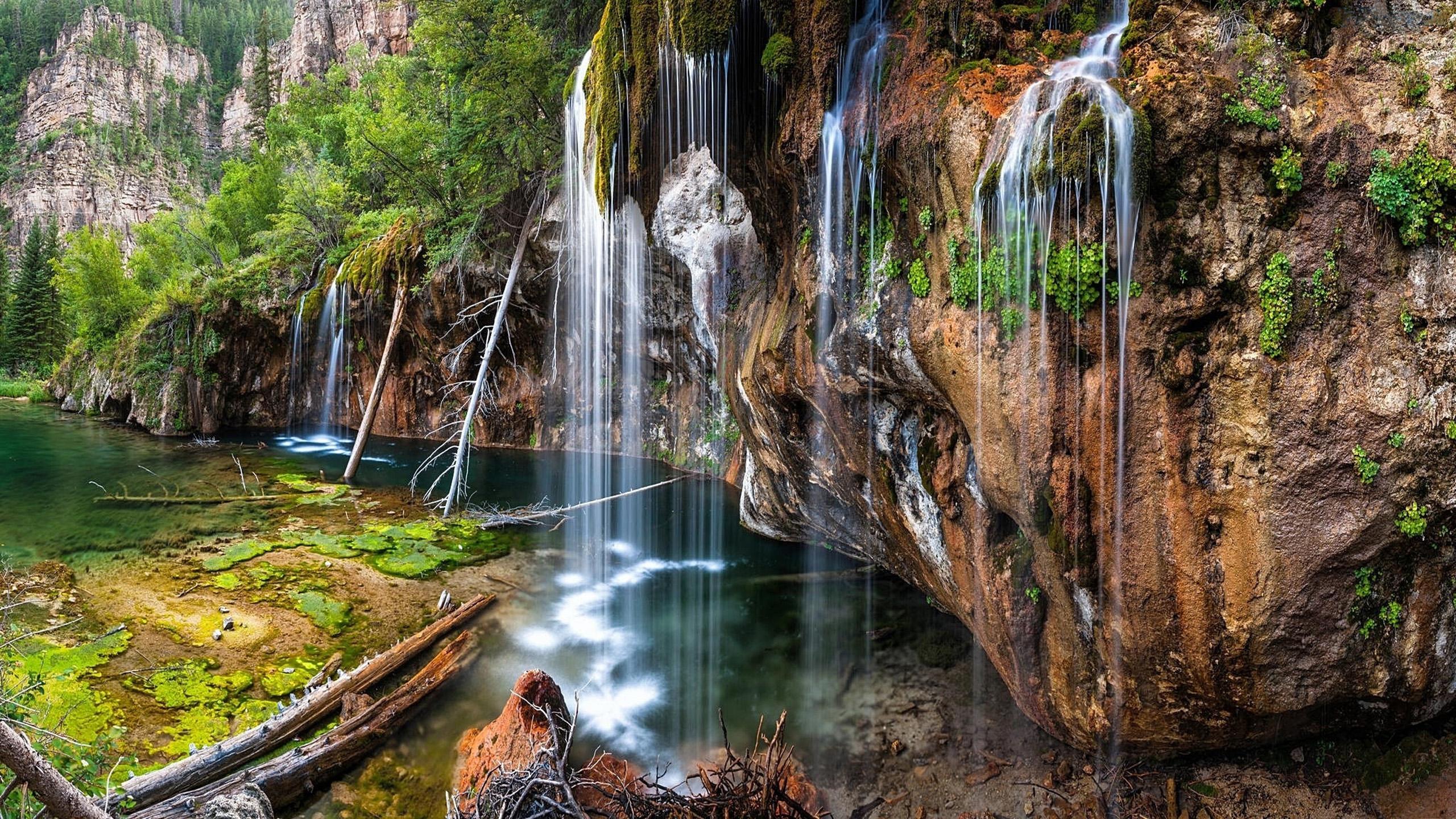 Hanging Lake Glenwood Canyon 7 Miles East Of Glenwood