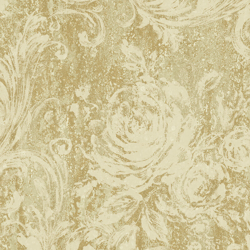 NH21005 Rustic Rose Gold Brockhall Wallpaper Collection