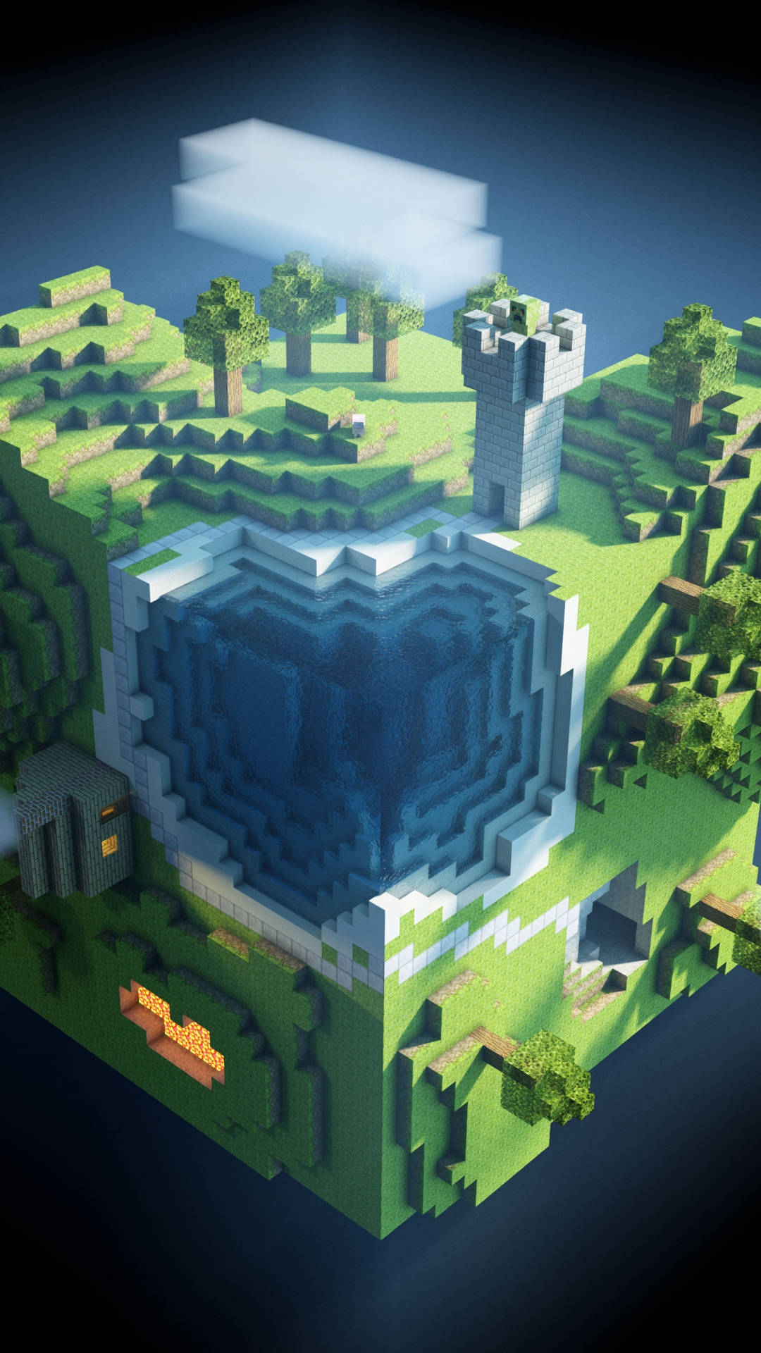 Download Minecraft Wallpaper Mobile Gallery