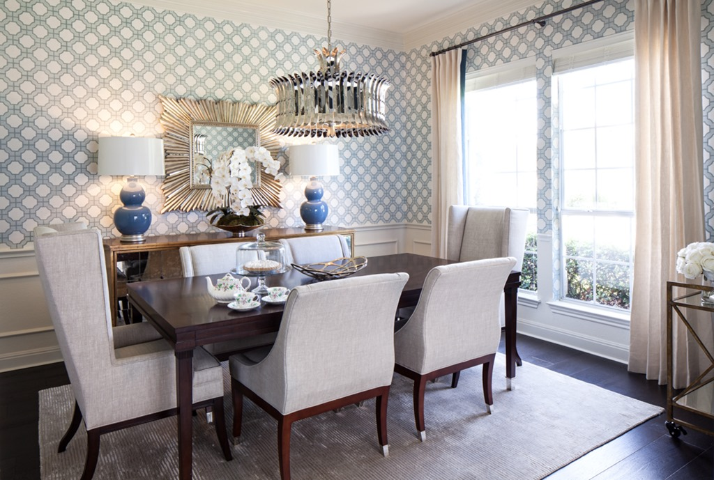 Download Grasscloth Wallpaper In Dining Room Gallery