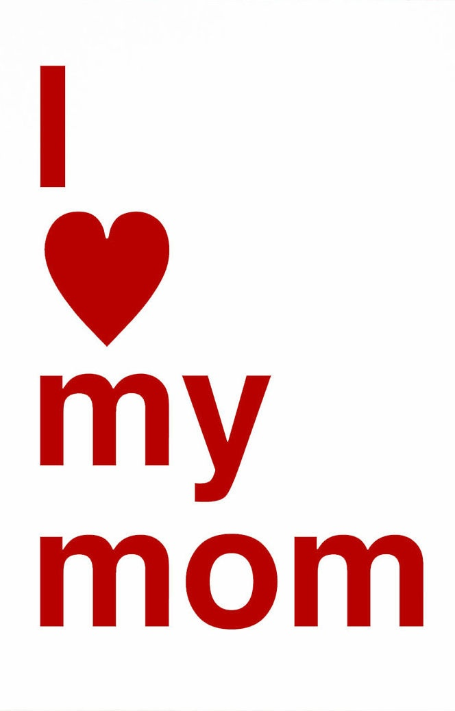 L love you mom wallpaper gendiswallpaper love mom wallpaper with quote inspiring quotes and words in life altavistaventures Choice Image