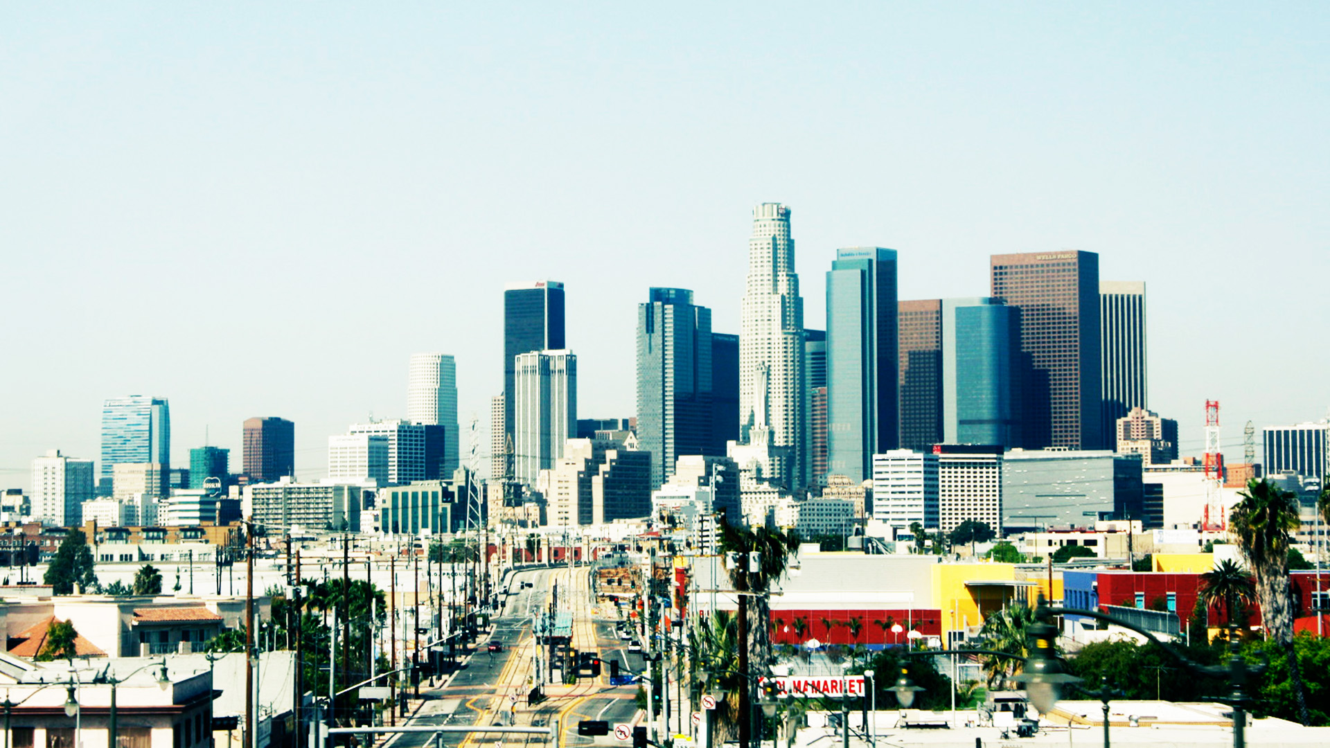 Download Los Angeles Downtown Wallpaper Gallery