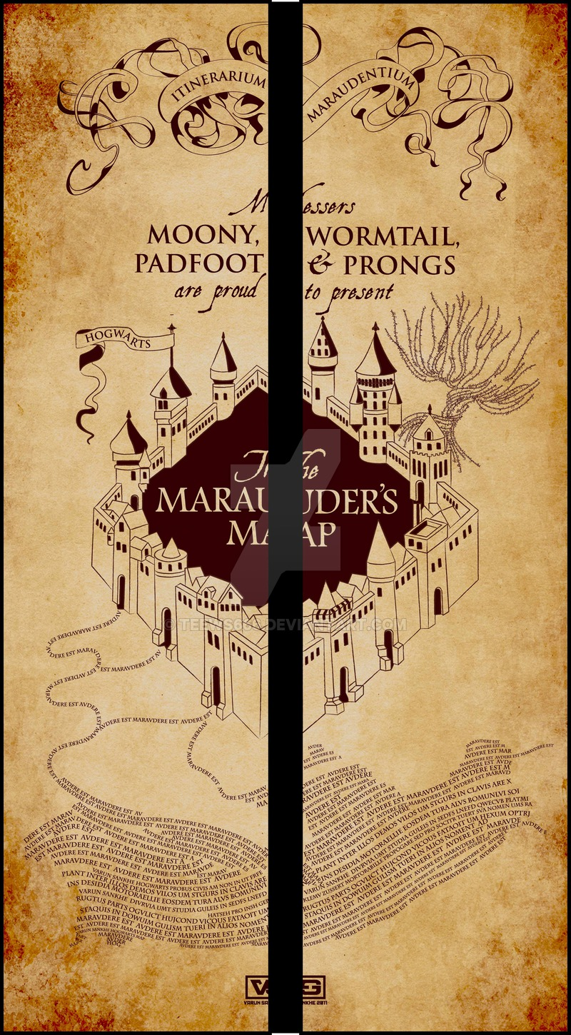Download The Marauders Map Wallpaper Gallery