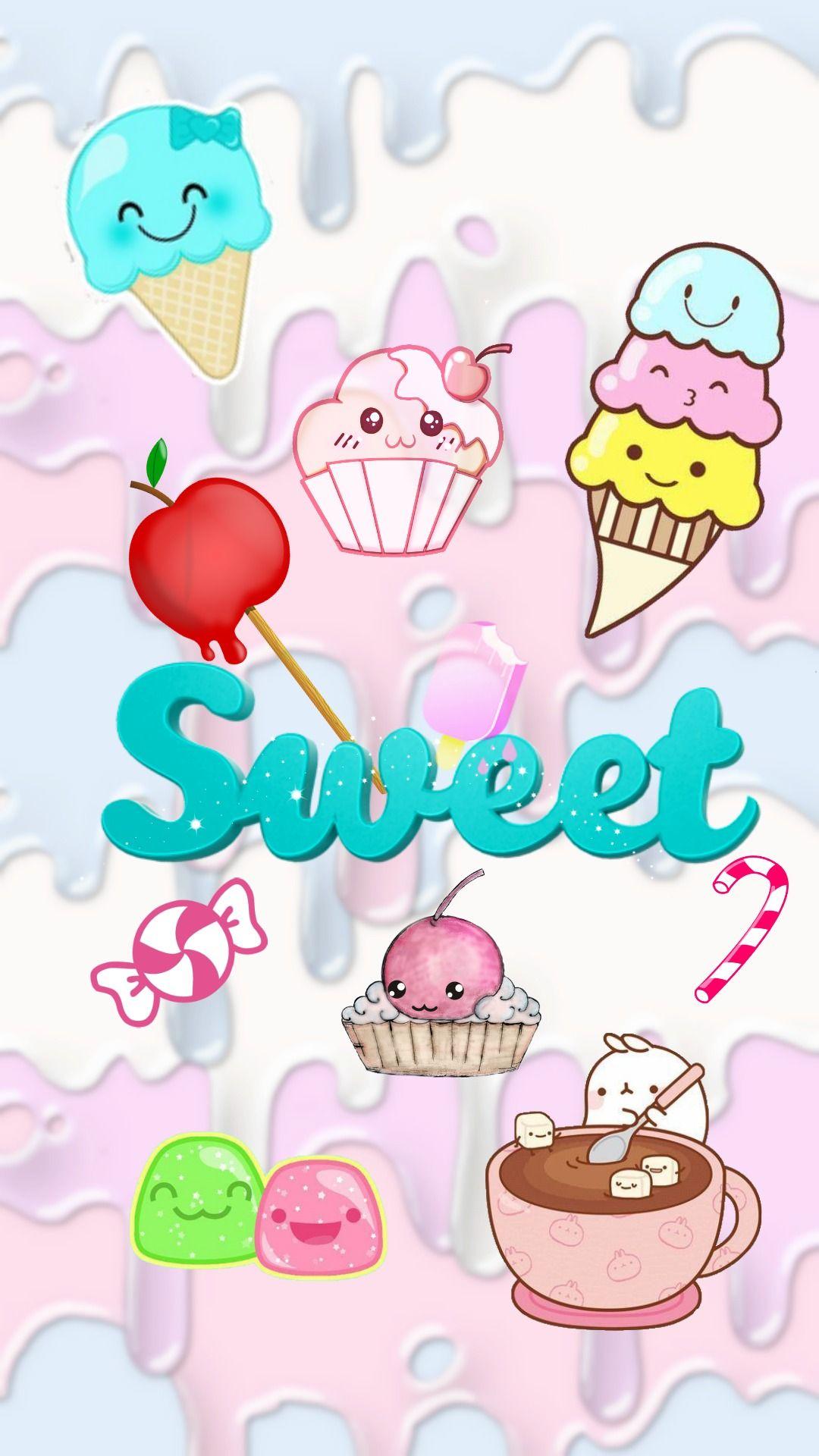 Sweet Cute Wallpaper For Phone Kawaii Wallpaper Iphone Cute 1080x1920 Download Hd Wallpaper Wallpapertip