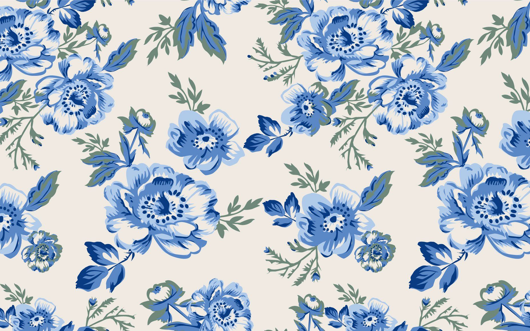 Vintage Floral Desktop Wallpaper Blue Vintage Flower Background 1856x1161 Download Hd Wallpaper Wallpapertip