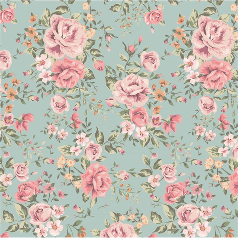 papier peint floral vintage papier
