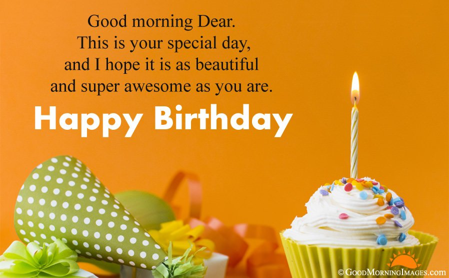Latest Good Morning Birthday Wishes Hd Wallpaper Birthday Wishes For Boys Hd 898x557 Download Hd Wallpaper Wallpapertip