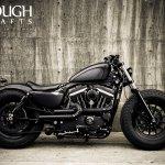 Iron 883 Bobber Z Bars 2009 Harley Davidson Sportster Rough Crafts Forty Eight 1280x850 Download Hd Wallpaper Wallpapertip