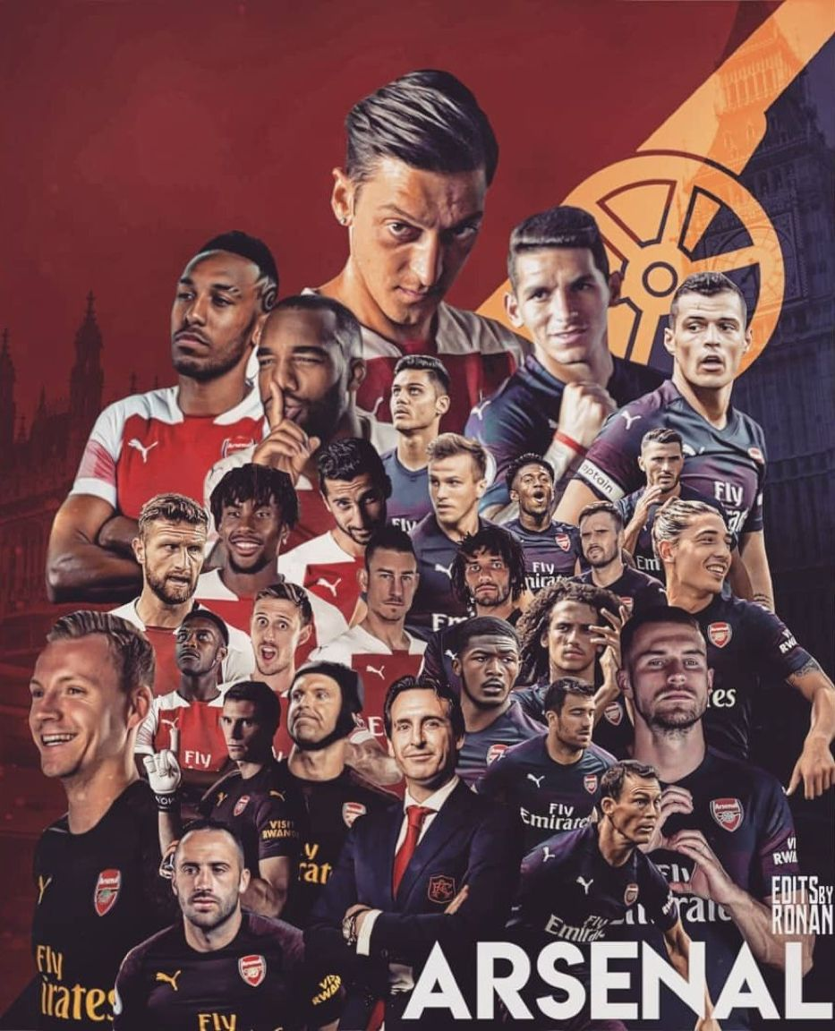 arsenal players wallpaper 933x1152