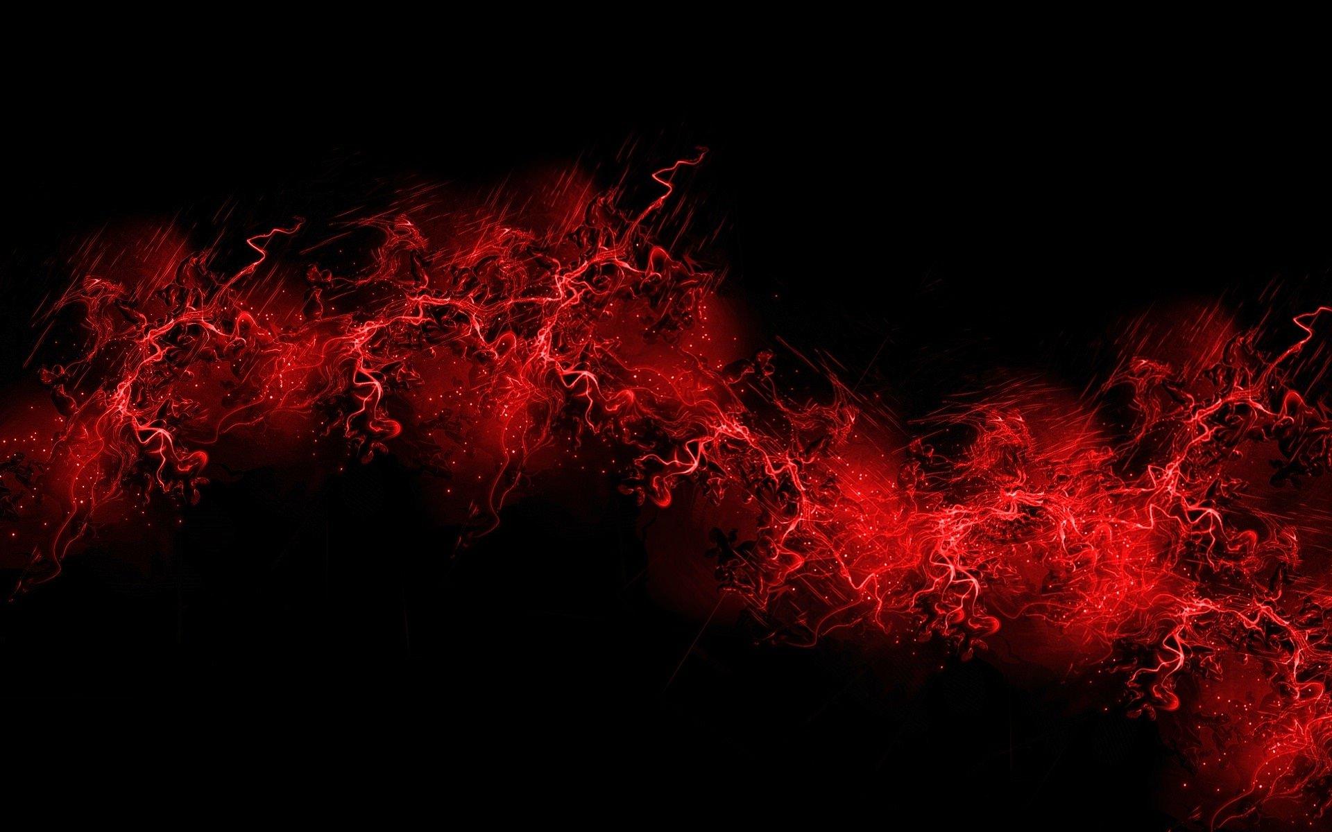 abstrait rouge noir fond d ecran