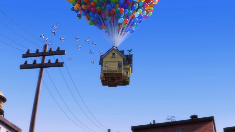 Up Movie House Taking Off - 1920x1080 - Download HD Wallpaper - WallpaperTip