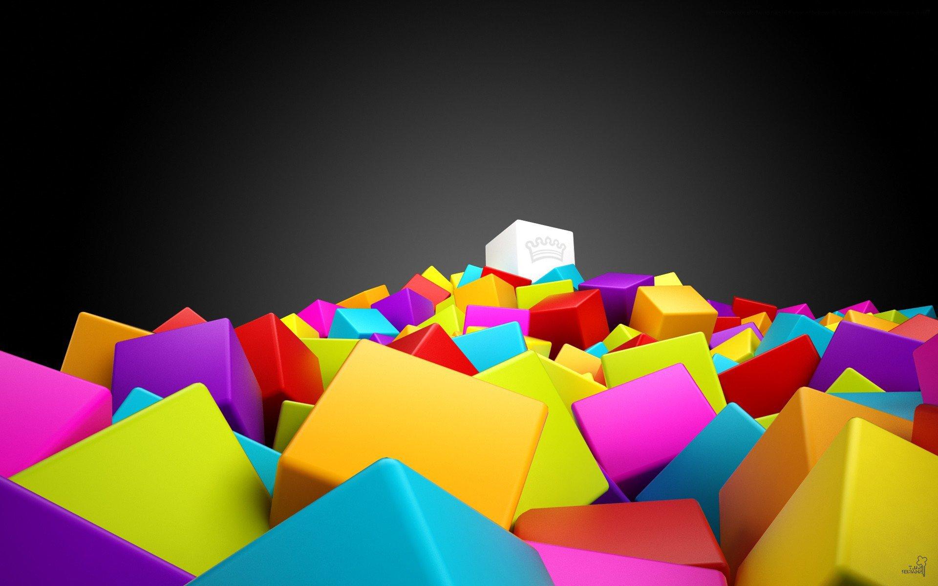 fond d ecran cube hd fond d ecran