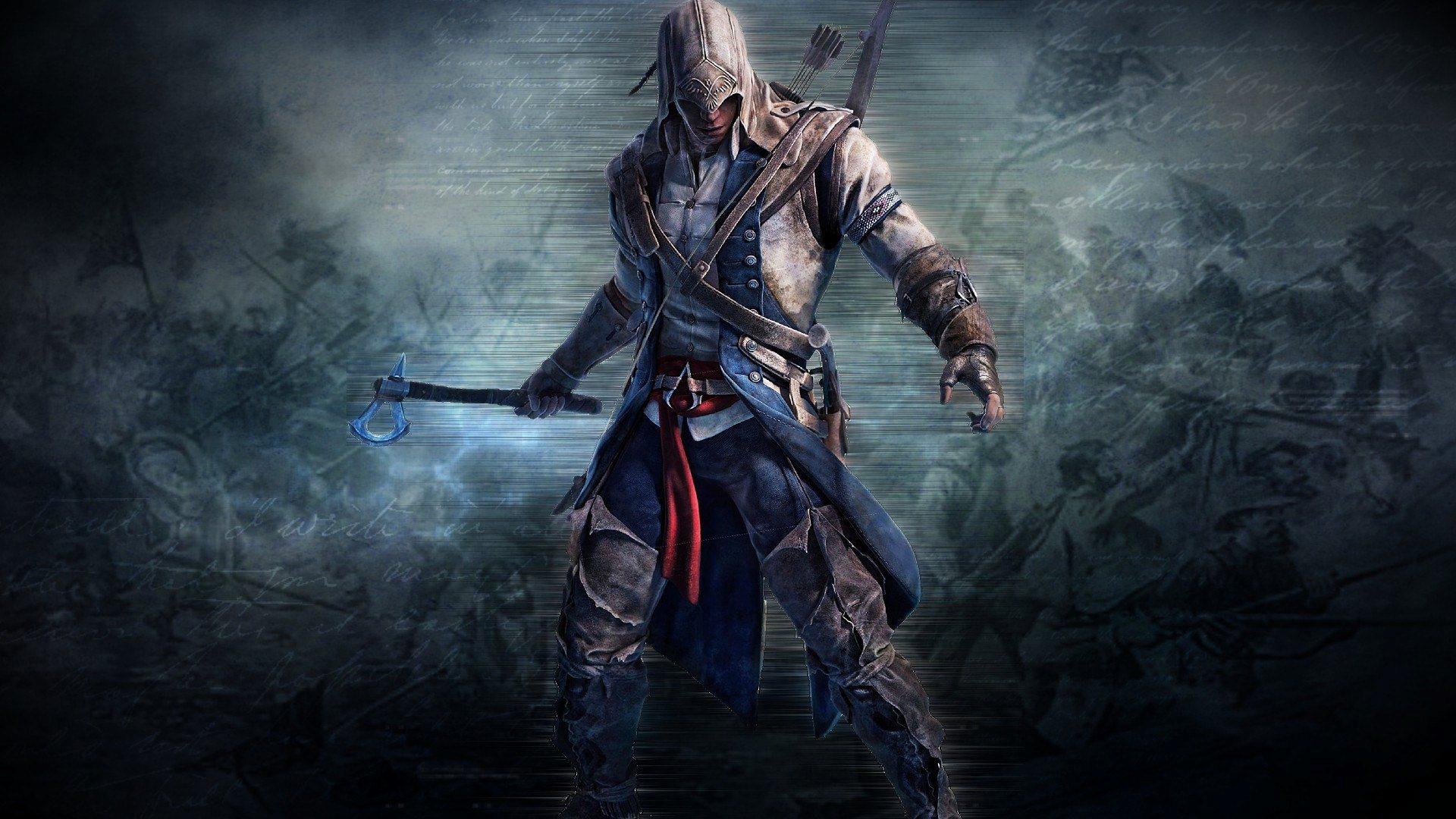 Assassins Creed 3 Game Wallpaper Hd Wallpaper Background