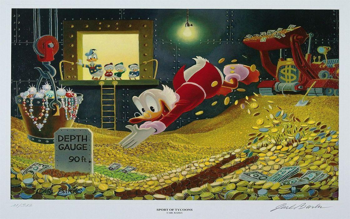 Scrooge McDuck Wallpaper 1680x1050 46775 WallpaperUP