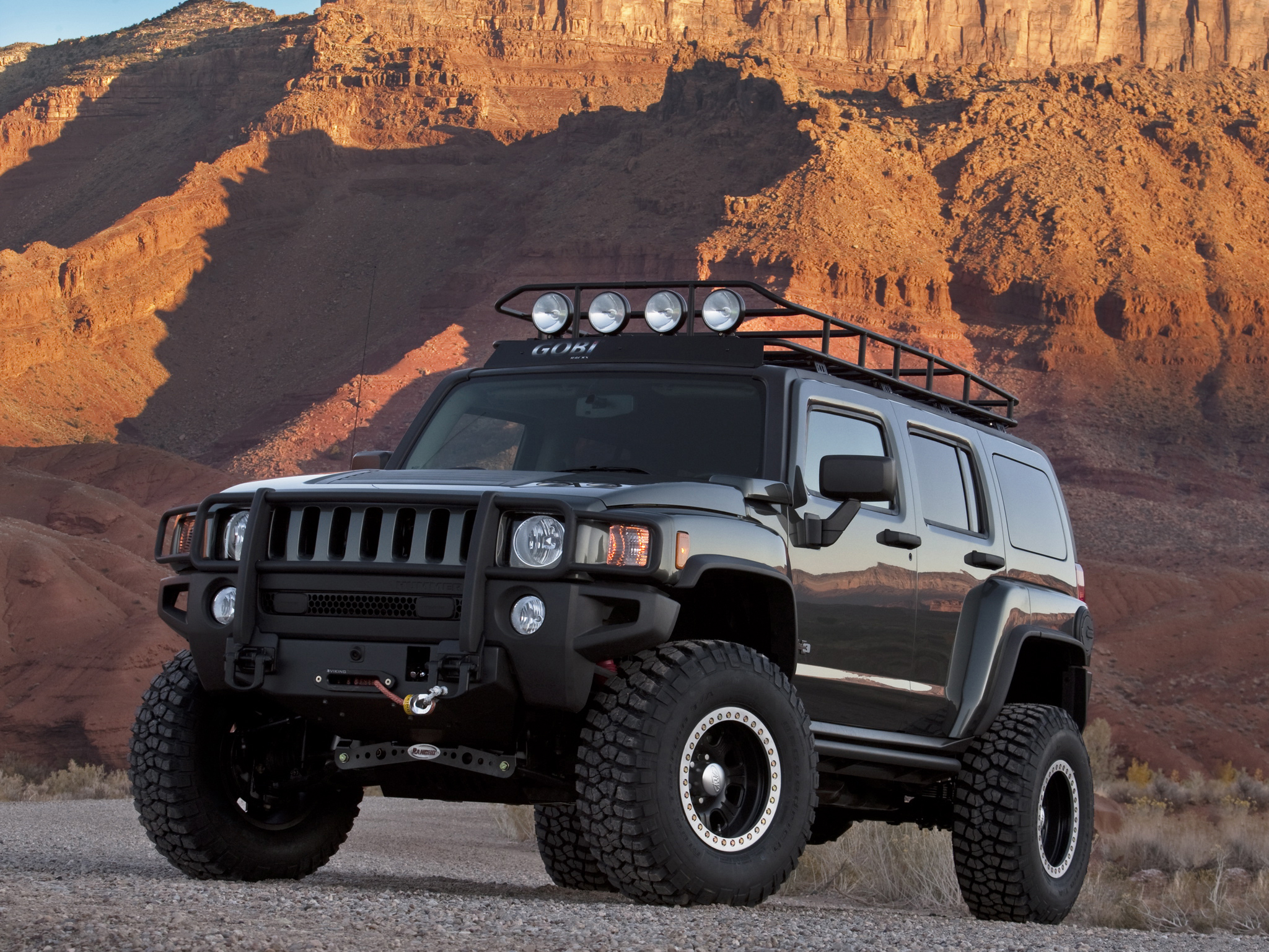 2009 Hummer H3 Moab Concept 4x4 suv h 3 wallpaper