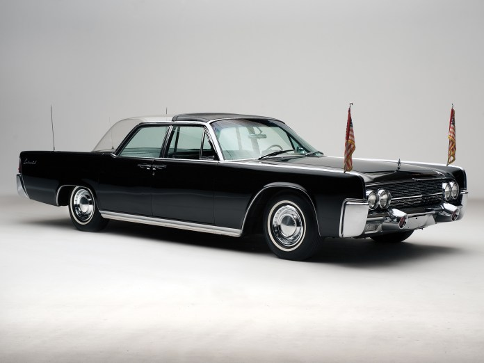 1962 lincoln continental bubbletop kennedy limousine classic luxury