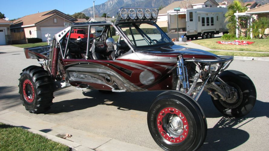 SANDRAIL Dunebuggy Offroad Hot Rod Rods Race Racing Custom
