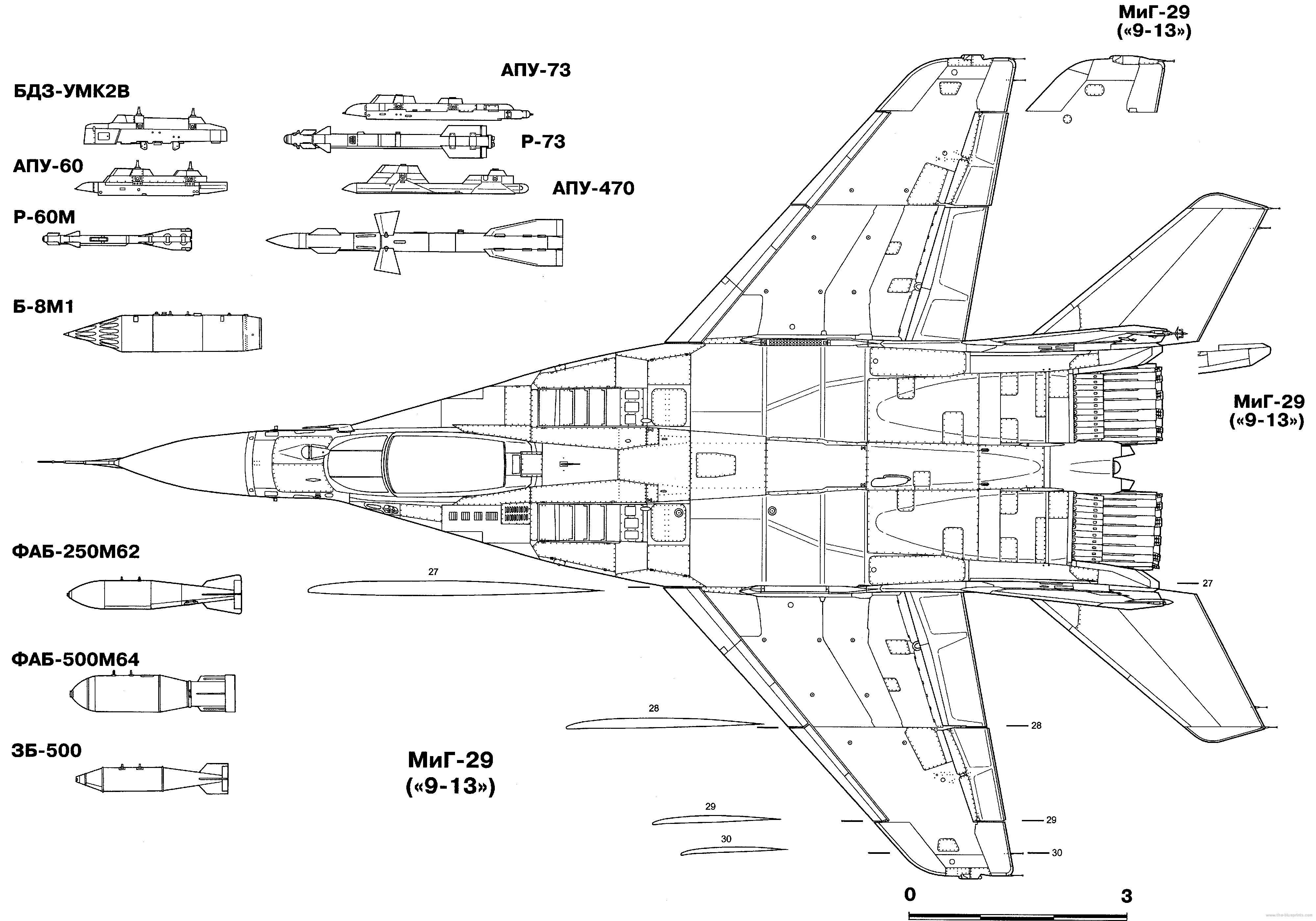 Mig 29 Fighter Jet Military Russian Airplane Plane Mig 9