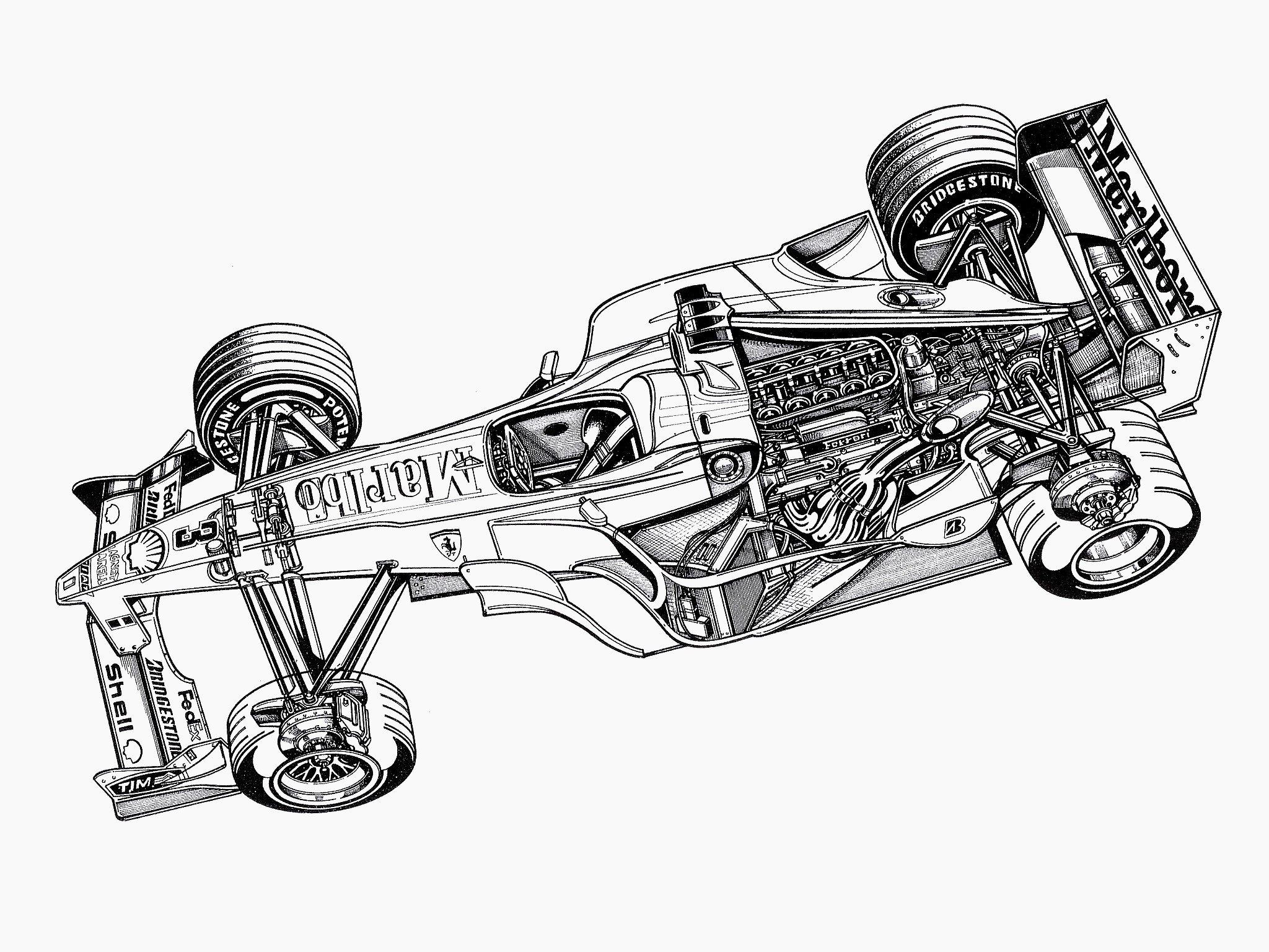 Ferrari F1 651 F 1 Formula Race Racing