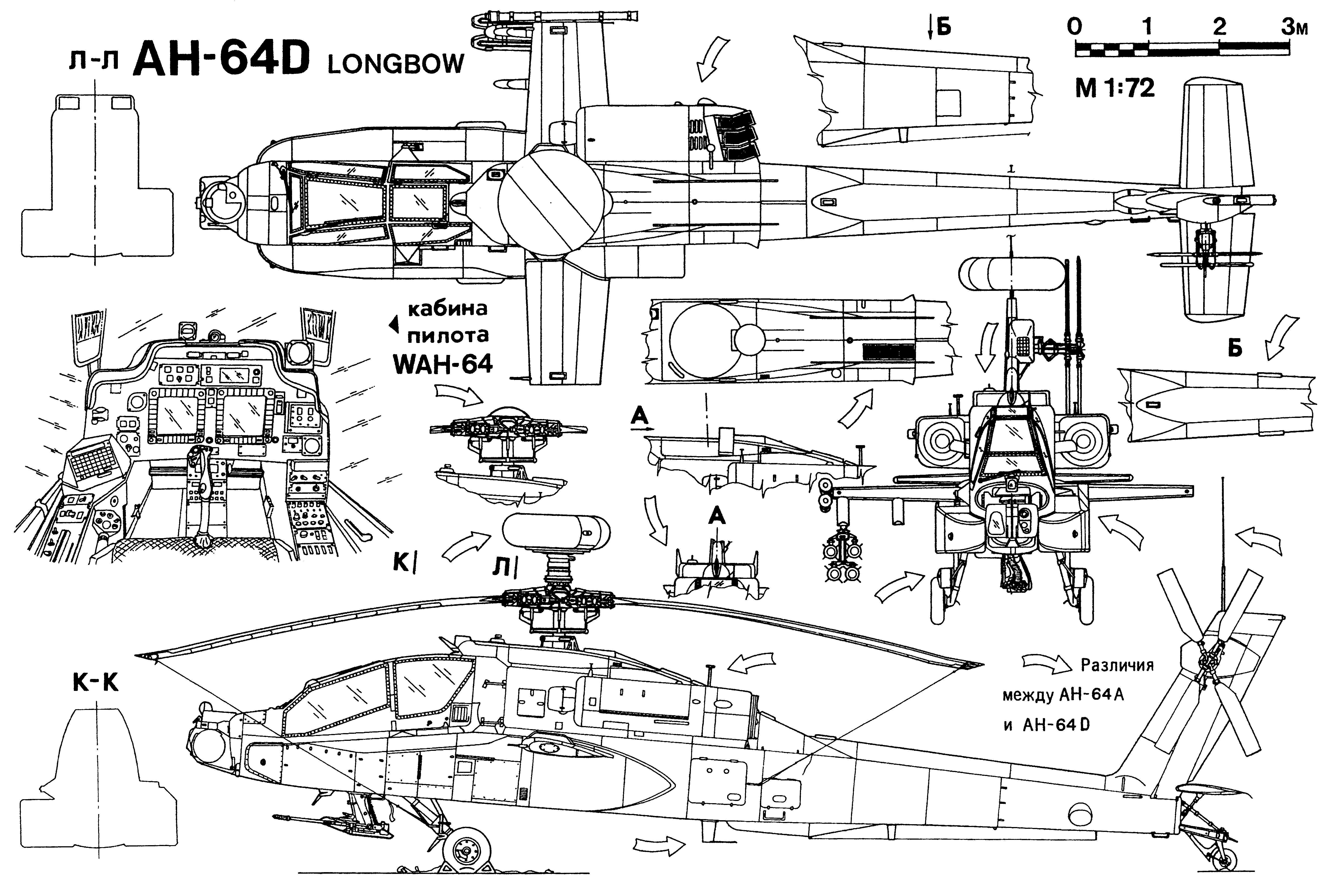 Ah 64 Apache Helicopter Army Military Weapon 28