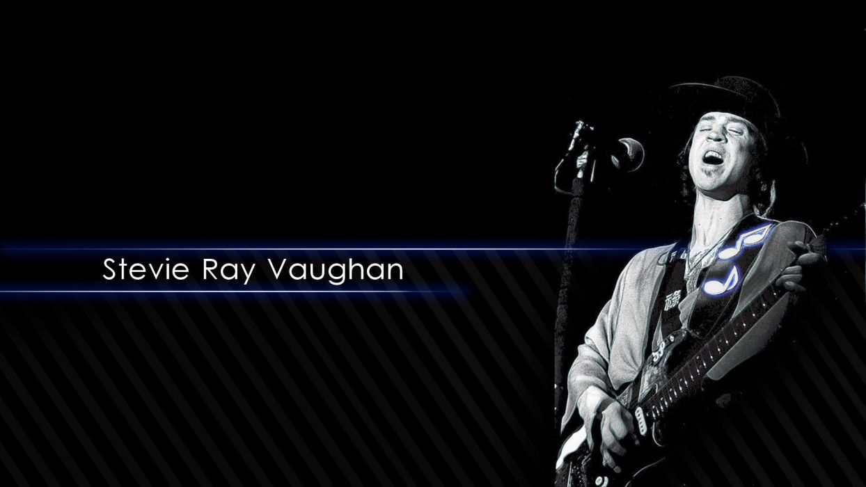 stevie ray vaughan blues rock hard