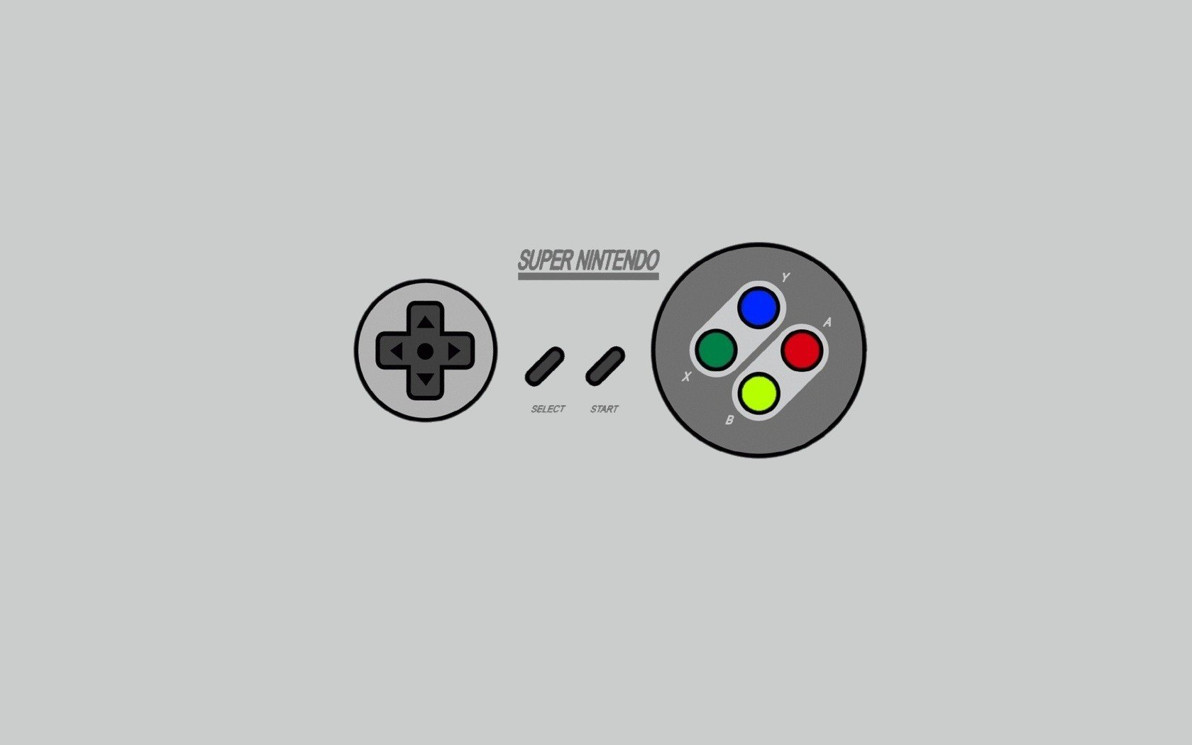 Nintendo Minimalistic Super Nintendo Simple Background