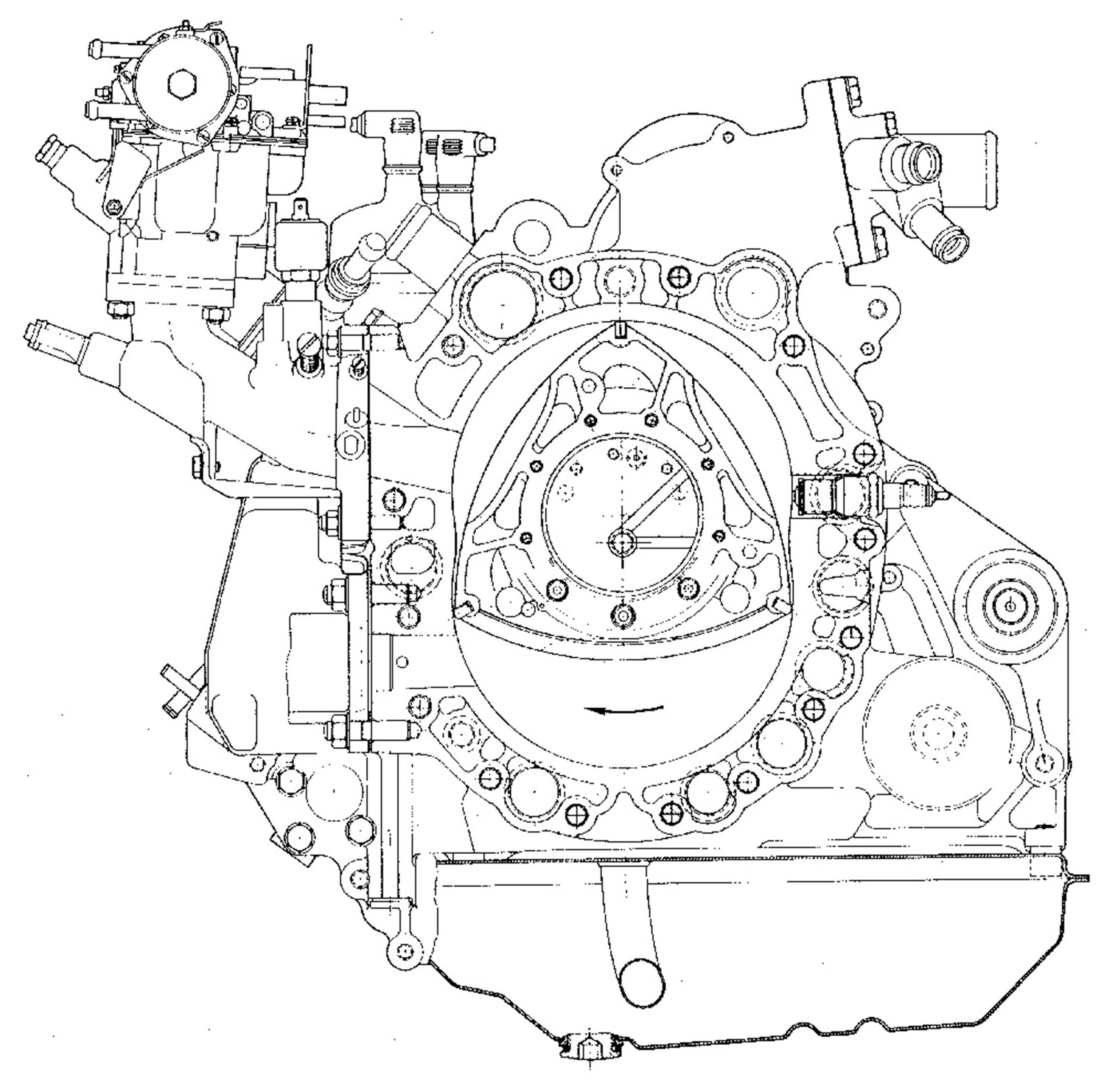 W4 Engine Animation Diagram