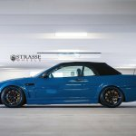 Bmw E46 M3 Convertible Blue Strasse Tuning Wheels Wallpaper 1600x1013 390364 Wallpaperup