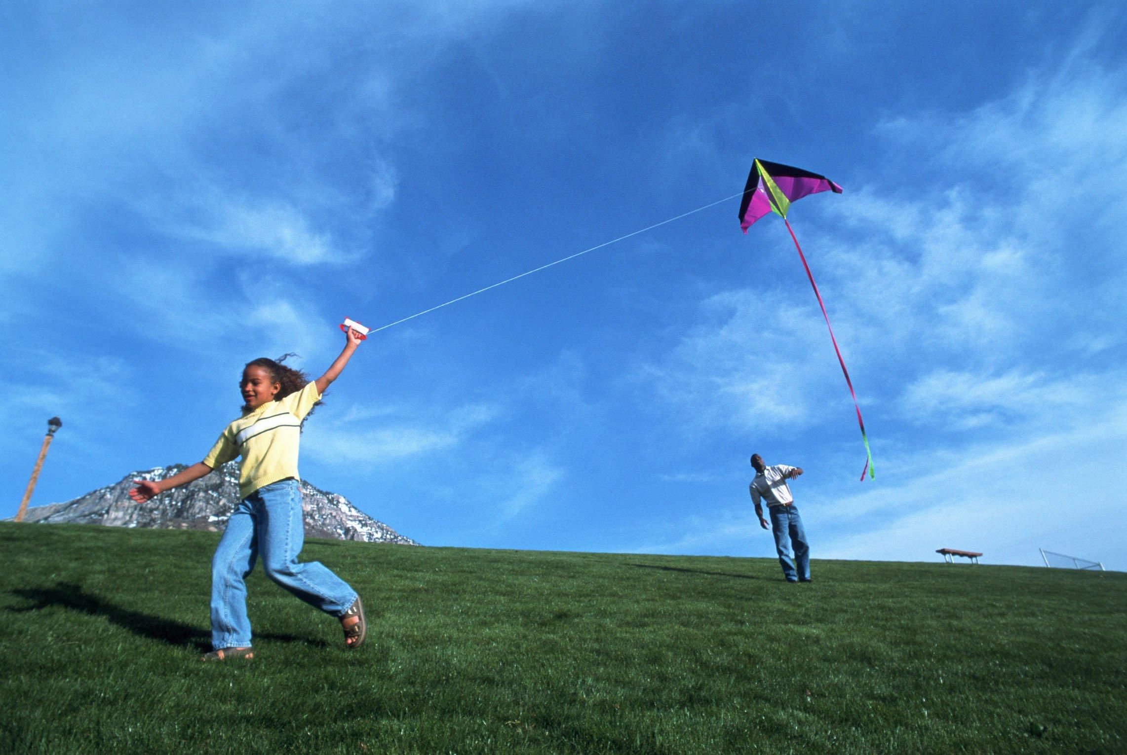 Kite Flying Bokeh Flight Fly Summer Hobby Sport Sky Toy