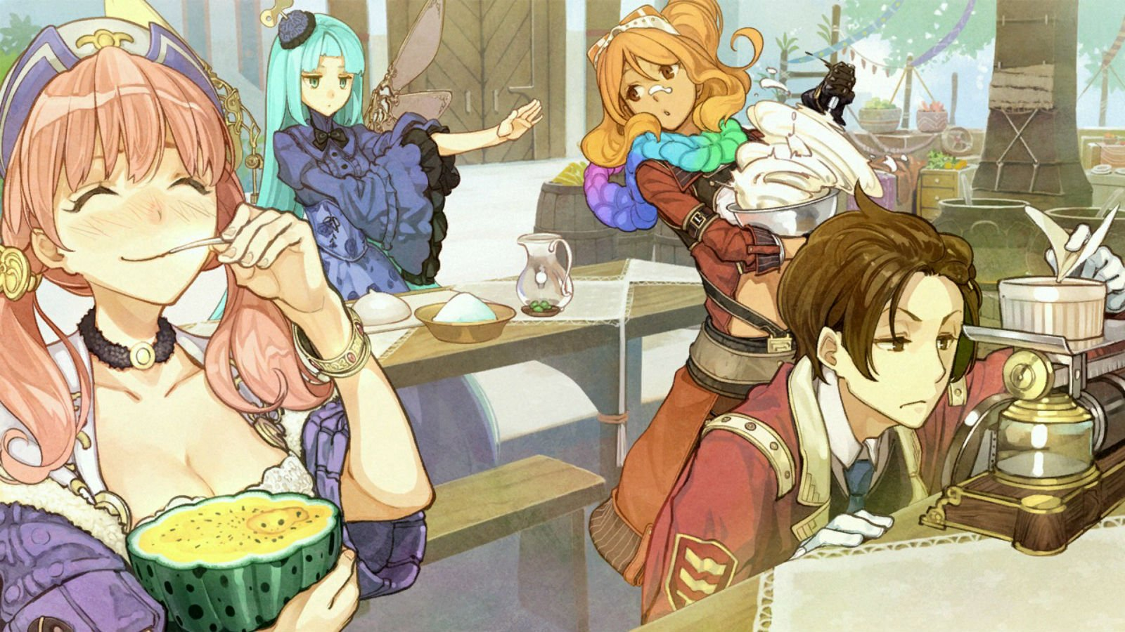 atelier shallie-alchemists of the dusk sea escha malier game cg jurie crotze odileia solle grumman