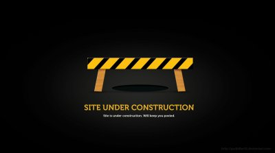 Under construction sign work computer humor funny text ...