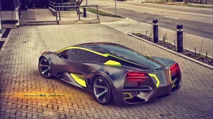 2015 lada raven supercar concept cars wallpaper | 2048x1151 | 629785