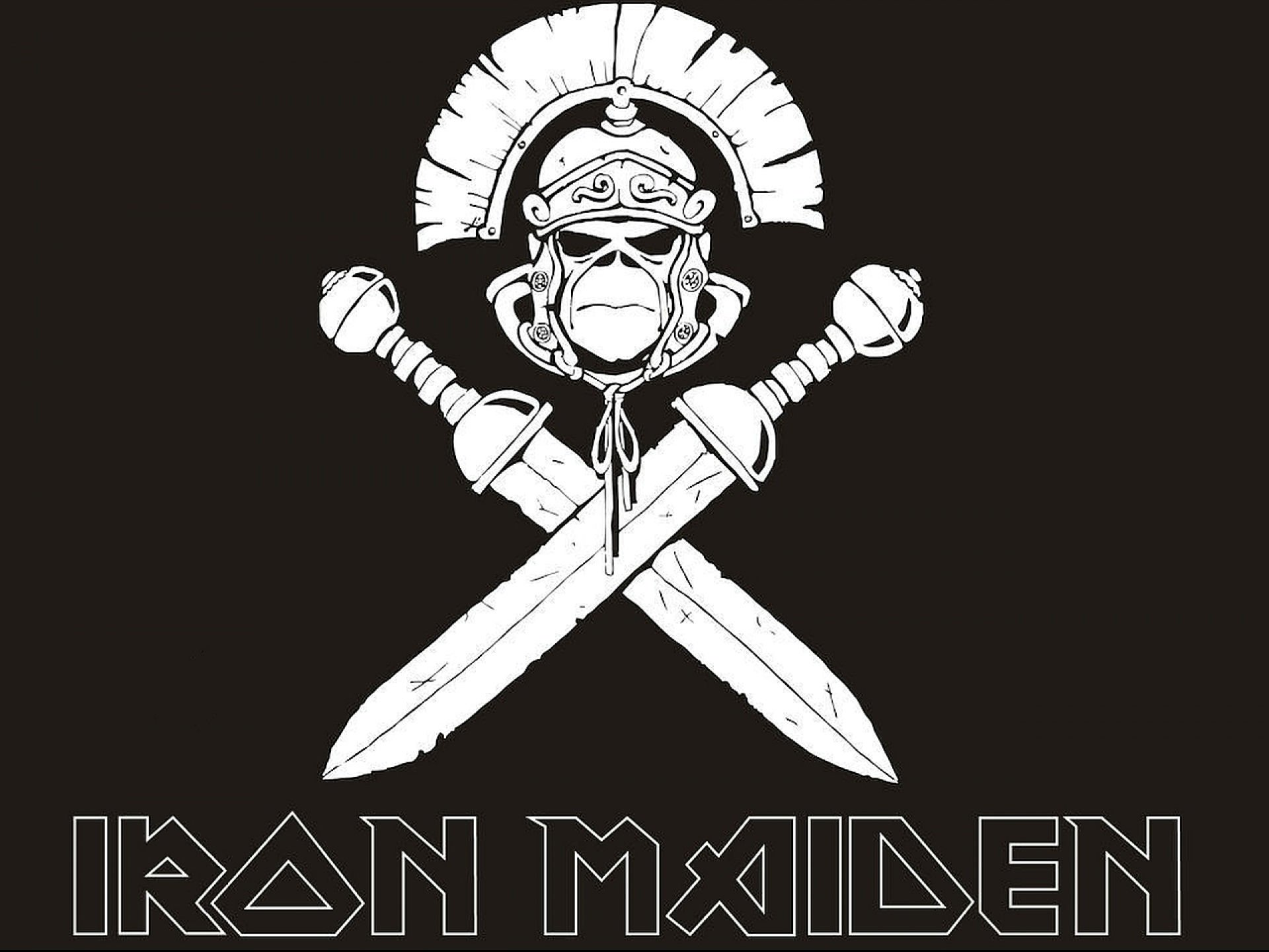 IRON MAIDEN Heavy Metal Power Artwork Fantasy Dark Evil