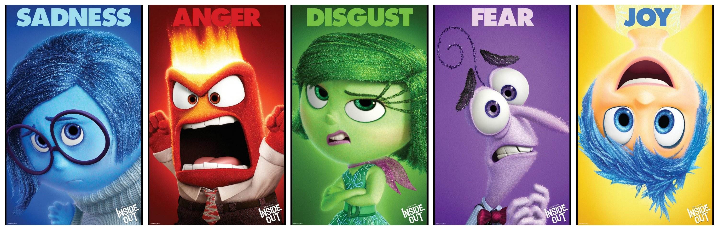 Inside Out Disney Animation Humor Funny Comedy Family